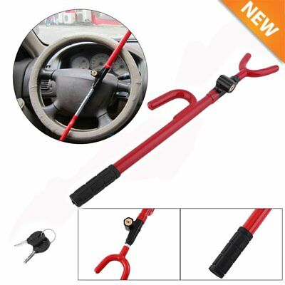 Steering Wheel Lock Anti Theft Security System Car Truck SUV Auto Club Sale 1FK