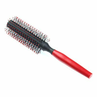 Portable Hair Roller Comb Hair Styling Beauty Hairdressing Curling Round Co FK