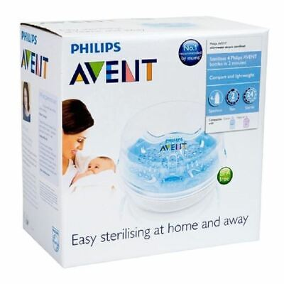 Philips Avent Natural Microwave Steriliser 1 2 3 6 12 Packs