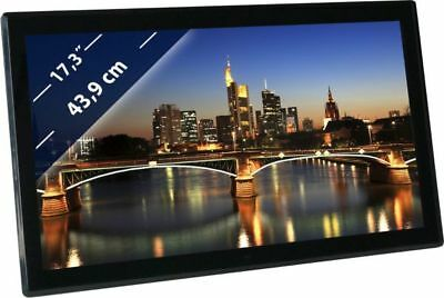 "BRAUN DigiFrame 1730 (17,3"",LCD+LED,1920x1080,16:9;IPS,Video-FullHD+MP3+4GB)"