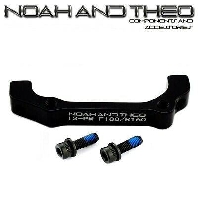 Ultralight Disc Brake Adapter Front 180mm IS Fork to POST or PM brake Caliper
