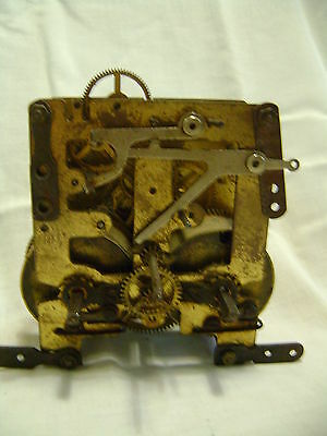 Wall Clock Machinery, Only brass machinery, for retore,, repair or parts