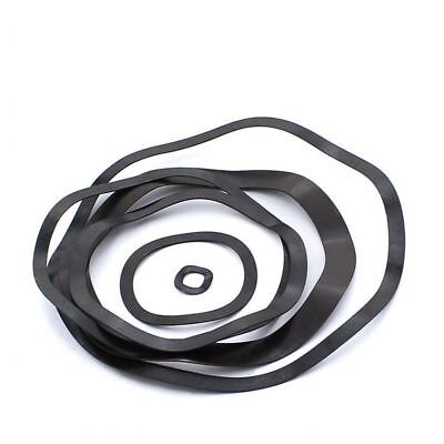 M4-M118 Wave Wavy Spring Crinkle Washers M4-M118 Carbon Steel Black Metric