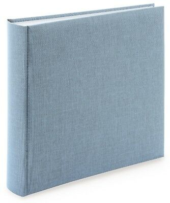 High Quality Blue-Grey Linen Photograph Album. Wedding Photo Album.