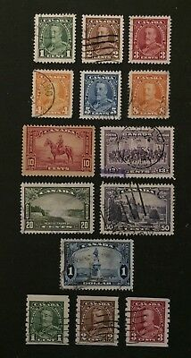 Canadian Stamp Selection