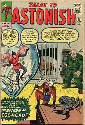 Tales To Astonish #45 - VG