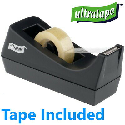 Rapesco Heavy Duty Desktop Bench Tape Selllotape Rolls Dispenser 25mm x 66m