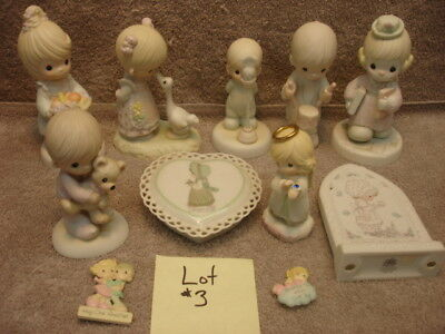 Lot # 3 Precious Moments collection.
