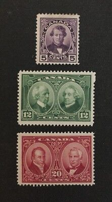 Canadian Stamp #146-148 MH