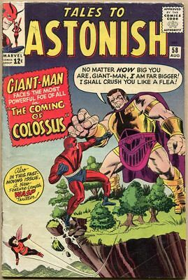 Tales To Astonish #58 - VG-
