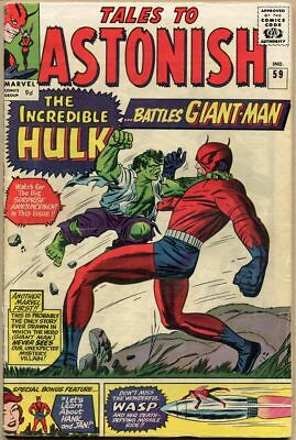 Tales To Astonish #59 - VG-