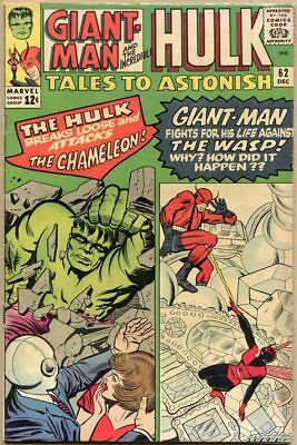Tales To Astonish #62 - VG+ - 1st Appearance Of The Leader