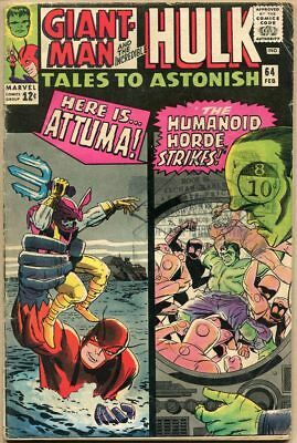 Tales To Astonish #64 - G+
