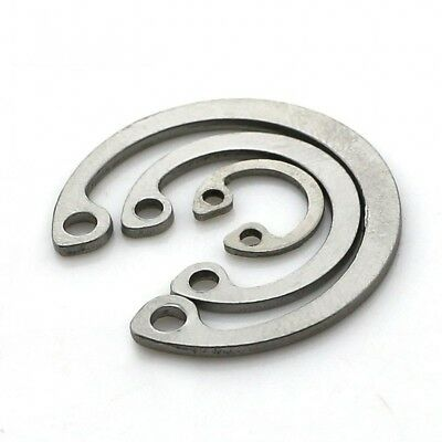 A2 Stainless Steel Internal Circlips Retaining Clips Snap Ring ¢8-¢36