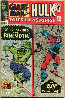 Tales To Astonish #67 - VG