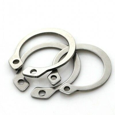 External Circlips Snap Retaining Ring  Cir Clip¢28-¢75 A2 Stainless Steel