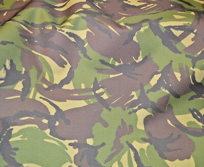 Camouflage Camo - Tough Waterproof Outdoor Canvas Fabric Material Cordura Type!