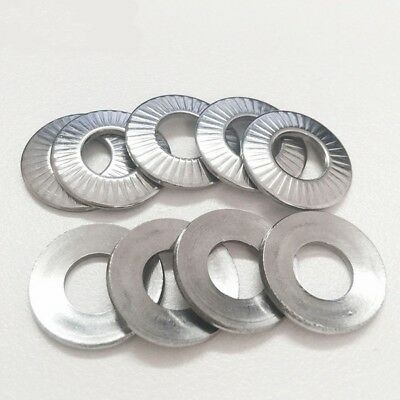 A2 Stainless Steel Locking Washers Toothed Shakeproof M3 M4 M5 M6 M8 M10 M12 M16
