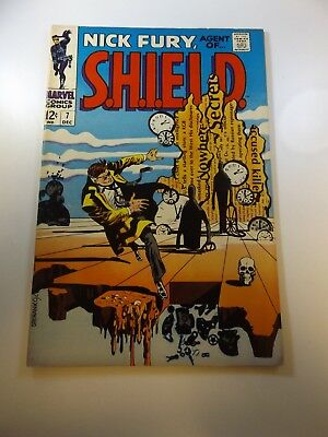Nick Fury Agent of SHIELD #7 FN/VF condition Huge auction going on now!