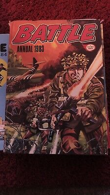 Battle Annual  1983 Vintage Action/Adventure Hardback