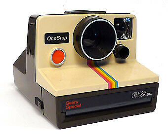 Polaroid OneStep Land Camera Sears Special- SX-70