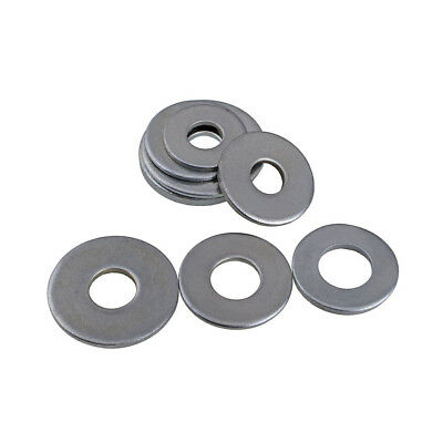 Flat Plain Repair Washers Zinc Plated Bzp Steel For Bolts & Screws M4 M5 M6