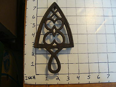 Original Vintage CAST IRON TRIVET 1800'S or early 1900's #26