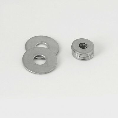 M1.6-M30 Metric Flat  Washers Plain Washer A2 Stainless Steel Marine Grade