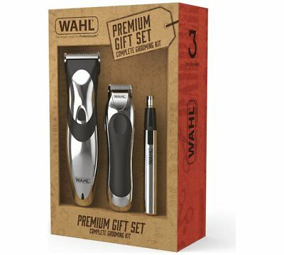 WAHL Complete Mens Hair Clipper Gift Set Beard Trimmer HairCutting Machine Kit