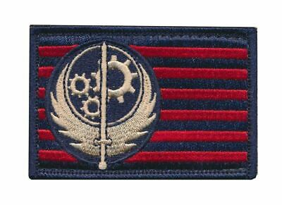 Fallout Brotherhood of Steel BOS Embroidered Flag Patch