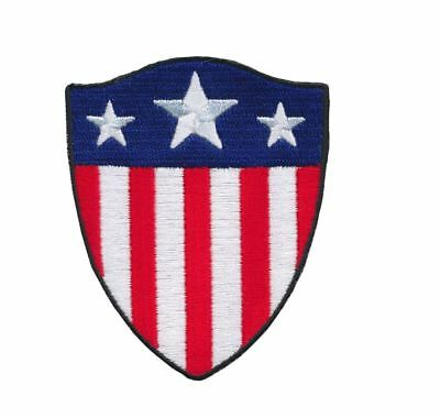 Patch Squad Men's Captain America Shield Stars Stripes Us Flag Morale Tactical P
