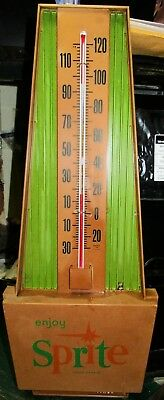 Vintage Early 1960's SPRITE THERMOMETER - Great Condition