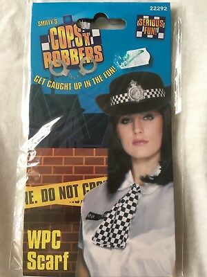 Police Woman  Scarf Smiffys WPC Free Postage