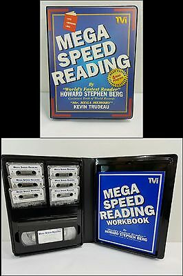 Mega speed reading howard stephen berg kevin trudeau 6 cassettesvhs mega speed reading howard stephen berg kevin trudeau 6 cassettesvhs workbook malvernweather Image collections