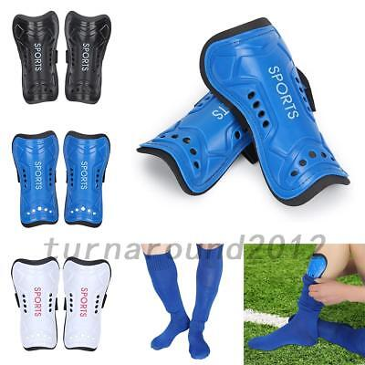 1Pair Kids Football Soccer Shin Pads Shin Guards Light Soft Foam Protect