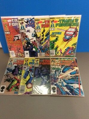 Transformers Comics Lot #4,5,9,10,11,13,14,17 Original Series Free Ship COMICS