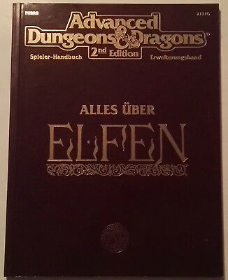 Advanced Dungeons And Dragons: Alles Über Elfen