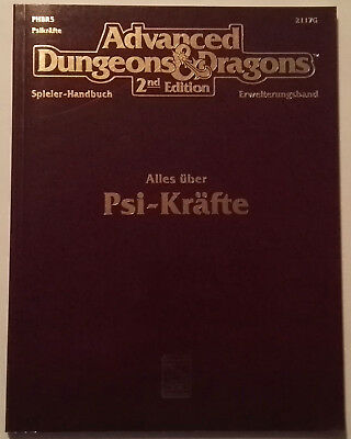 Advanced Dungeons And Dragons: Alles Über PSI-Kräfte