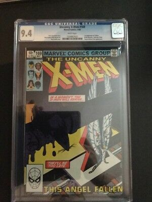 Uncanny X-Men #169 - 1983 - CGC 9.4 Cheapest On eBay And You Know It!