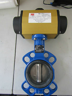 Double Acting Pneumatic Actuated Butterfly Valve EPDM Liner - 7998803