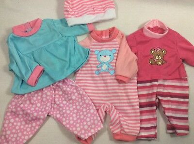 "Adorable Clothes Outfits Dresses for Smaller Baby Alive Dolls Fits 13"" 14"" Dolls"