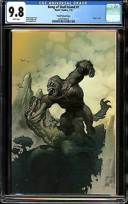 Kong of Skull Island #1 CGC 9.8 Powell Variant Cover