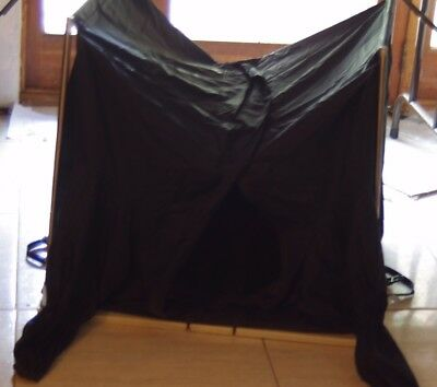 Large Professional Portable Darkroom Film Changing Tent for 8x10 & Wet- Plating