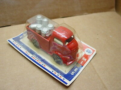 Vintage Barclay Metal Mites Loaded Delivery Truck Sealed In Package 49 Cent #377