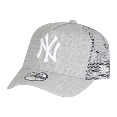 New Era Trucker Kinder Cap - HEATHER NY Yankees grau