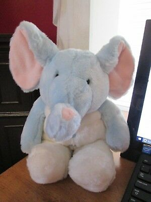 "Russ Berrie Plush Elephant Jumpers 15"" Nwt"