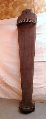 Fold Down Wall Mount Wood Wooden Clothes Rack Dryer 1880 Era J FOR T Antique