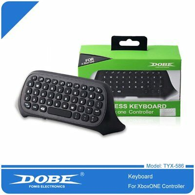2.4G USB Wireless Keyboard Chatpad Message for Xbox One Controller LOT MK