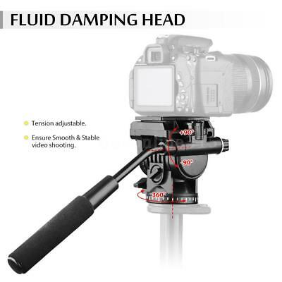 ABS 360°Fluid Video Action Head Panoramic Head forSlider Shooting Filming W9P0