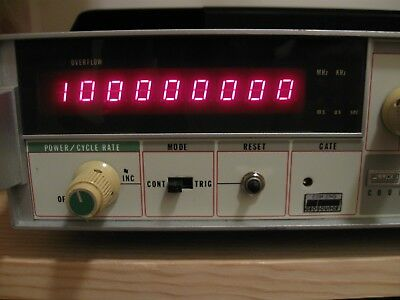 Fluke 1953A  125Mhz Frequency Counter 9 Digit - Nice Condition